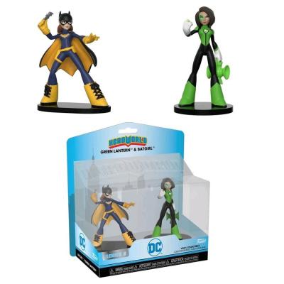 Heroworld: DC - 2PK - Batgirl - Green Lantern