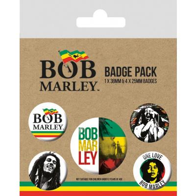 Bob Marley: Badge Pack