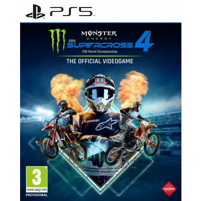 Monster Energy Supercross 4: The Official Videogame (PS5)