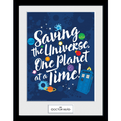 Doctor Who: Saving the Universe Collector Print