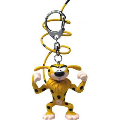 Marsupilami: Muscular Marsupilami 11 cm Keychain