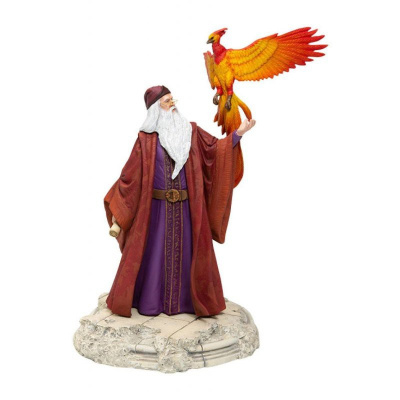 Harry Potter: Dumbledore with Fawkes PVC Statue