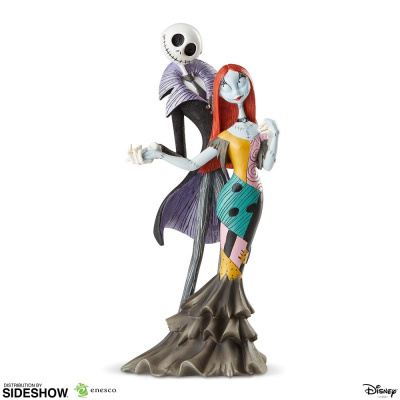The Nightmare Before Christmas: Jack and Sally Deluxe Statue