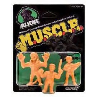 Aliens: 1.75 inch Muscle Figures 3 figure Set - Wave 1 Pack B
