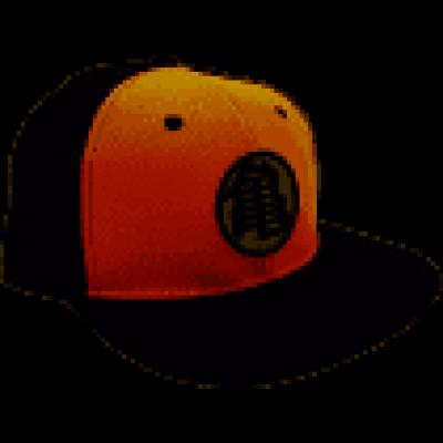DRAGON BALL - Snapback Cap - Black & Orange- Kame