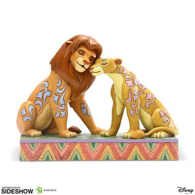 Disney: The Lion King - Simba and Nala Snuggling Figurine