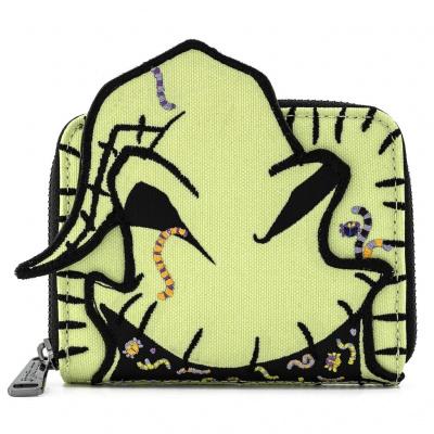 Loungefly Disney Nightmare before Christmas Oogie Boogie Creepy Crawlies Zip Around Wallet