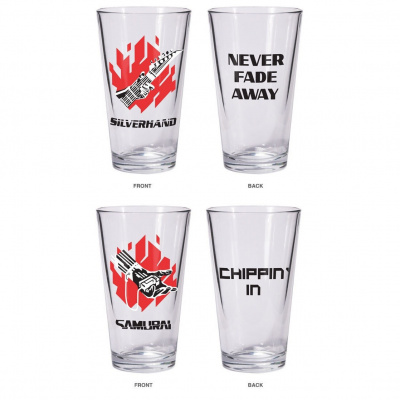 Cyberpunk 2077: Silverhand Pint Glass Set