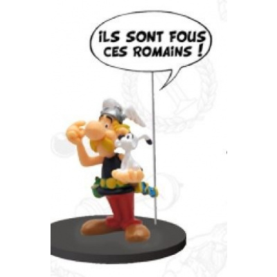 Asterix: Comics Speech Collection - Asterix and Dogmatix Statue