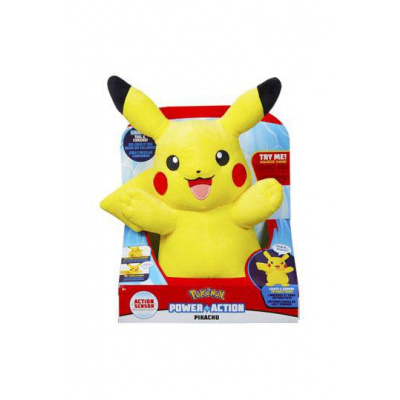 Pokemon: Interactive Pikachu 10 inch Plush with Light and Sound