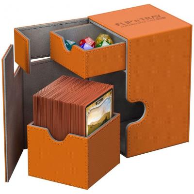 Ultimate Guard Flip´n´Tray Deck Case 100+ standard size XenoSkin Orange