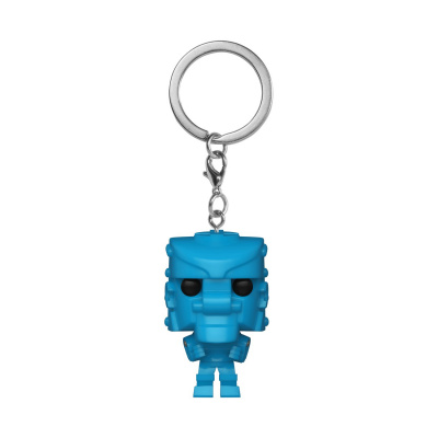 Pocket Pop! Keychain: Mattel - Rock Em Sock Em Robot Blue