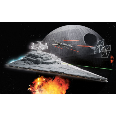 Star Wars: Build and Play Imp. Star Destroyer 1:4000 Scale Model Kit