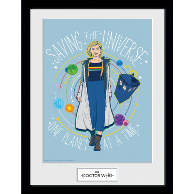 Doctor Who: Saving the Universe Doctor Collector Print