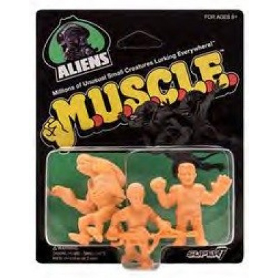 Aliens: 1.75 inch Muscle Figures 3 figure Set - Wave 1 Pack A