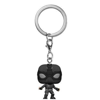 POP Keychain: Spider-Man: Far From Home - Spider-Man (Stealth Suit)