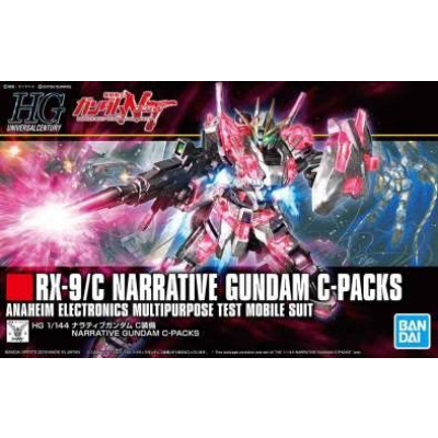 Gundam: High Grade - Narrative Gundam C-Packs 1:144 Model Kit