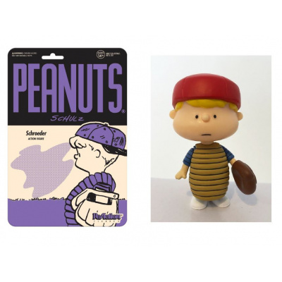 Peanuts: Baseball Schroeder - 3.75 inch ReAction Figure