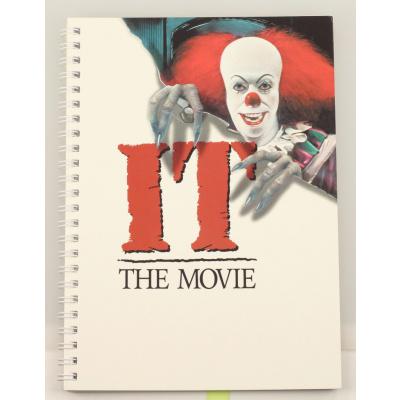 IT 1990: Movie Poster Spiral Notebook