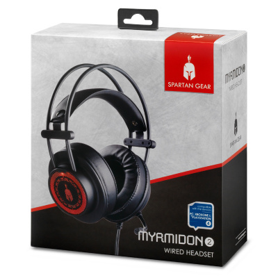 Spartan Gear Myrmidon 2 Wired Headset (Compatible with PC, playstation 4 and xboxone)