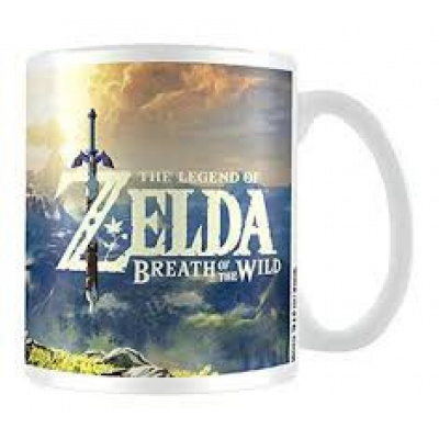 THE LEGEND OF ZELDA - Mug - 300 ml - Breath of the Wild Sunset