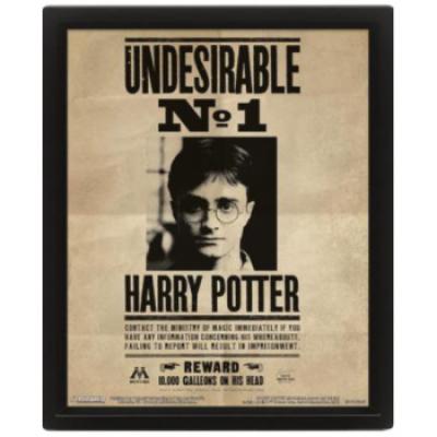 Harry Potter (Potter Sirius) Framed 10X8 3D