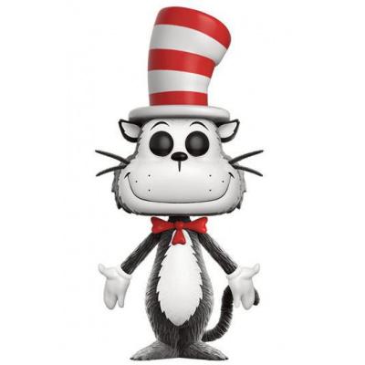 Dr. Seuss POP Books Vinyl figurine Cat in the Hat (Flocked) 9 cm