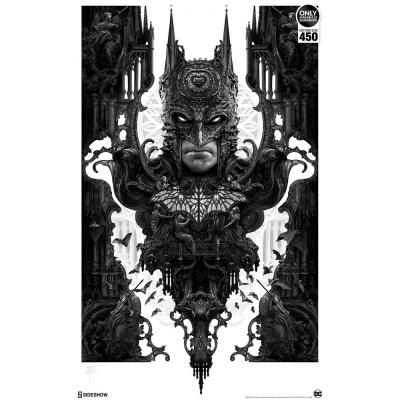 DC Comics: Batman Unframed Art Print by Nekro
