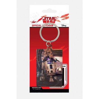 Star Wars: R2-D2 With Porgs keychain