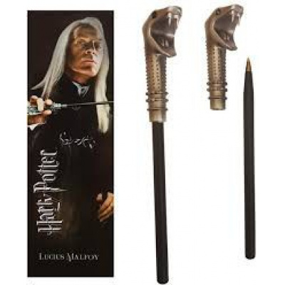 Harry Potter: Lucius Malfoy Wand Pen and Bookmark