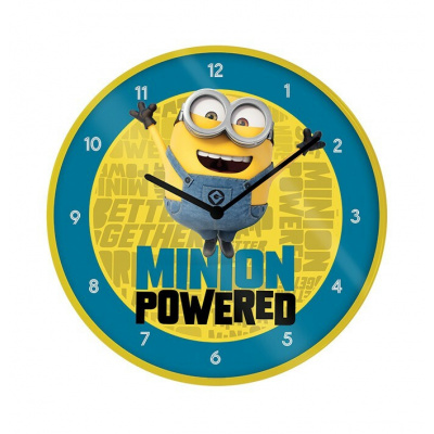 Minions: The Rise of Gru - Minion Powered 10 inch Clock