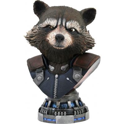 Marvel: Legends in 3D - Avengers Endgame Rocket Raccoon 1:2 Scale Bust