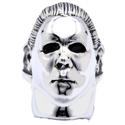 Halloween: Michael Myers - Silver Plated Ring Size 12