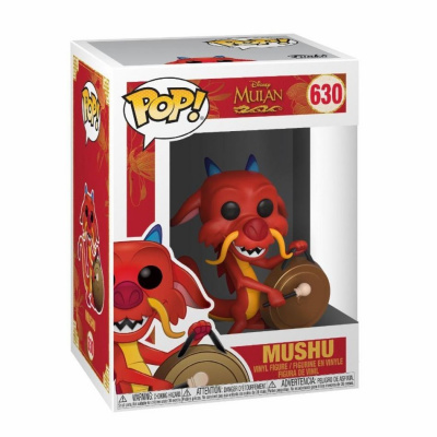 Pop! Disney: Mulan - Mushu with Gong