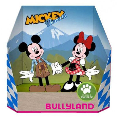 Mickey & Minnie Mouse Oktoberfest set Bullyland