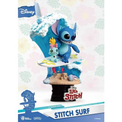 Disney: Stitch Surf PVC Diorama