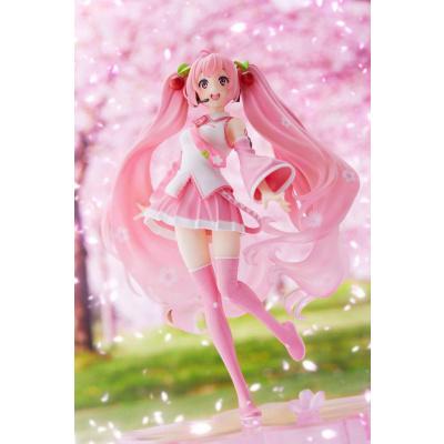 Vocaloid statue PVC Hatsune Miku Sakura Miku B Cherry Blossoms Ver. 20 cm