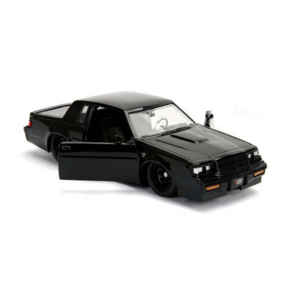 Fast and Furious: Doms 1987 Buick Grand National Black 1:24