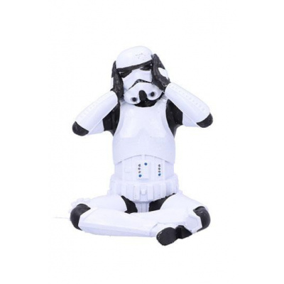 Stormtrooper figurine Hear No Evil Stormtrooper 10 cm