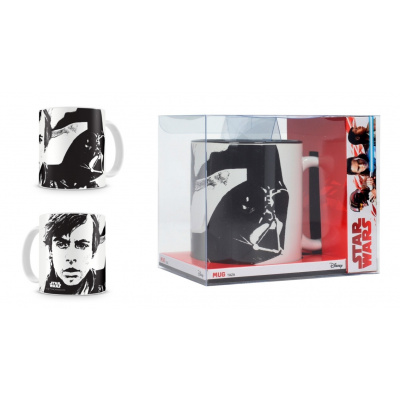 Star Wars The Last Jedi: Skywalker White Mug
