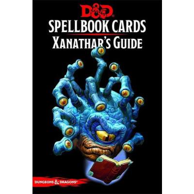 Dungeons & Dragons jeu de cartes Spellbook Cards: Xanathars Deck *ANGLAIS*