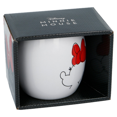 CERAMIC GLOBE MUG 13 OZ IN GIFT BOX MINNIE MOUSE YOUNG ADULT