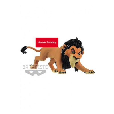Disney figurine Fluffy Puffy Lion King Scar 7 cm