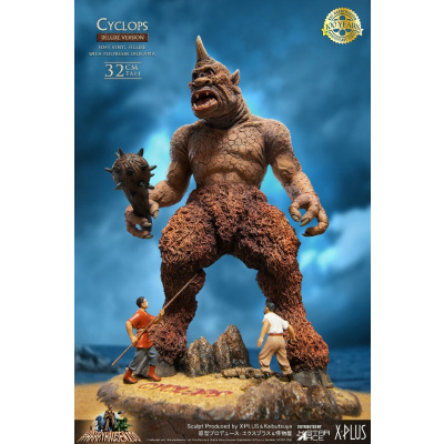 The 7th Voyage of Sinbad: Deluxe Cyclops Soft Vinyl Statue