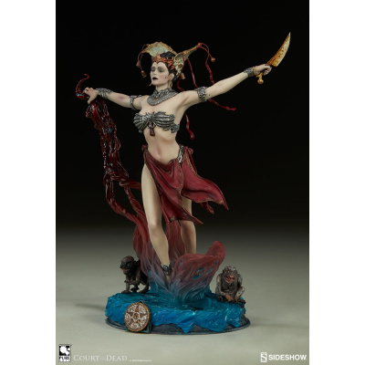 Court of the Dead: Gethsemoni - Queens Conjuring Statue
