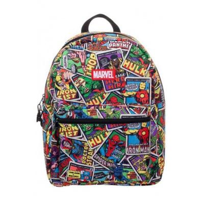 Marvel backpack Card AOP Brick Logo