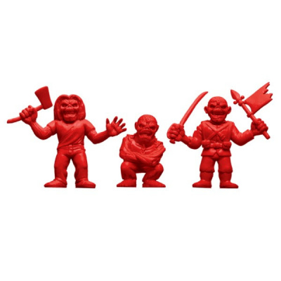 Iron Maiden: 1.75 inch Muscle Figures - Red 3 figure set