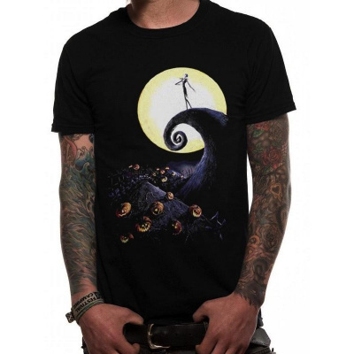 NIGHTMARE BEFORE CHRISTMAS - T-SHIRT IN A TUBE- CEMETERY