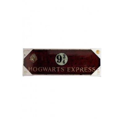 Harry Potter glass poster Hogwarts Express 60 x 20 cm