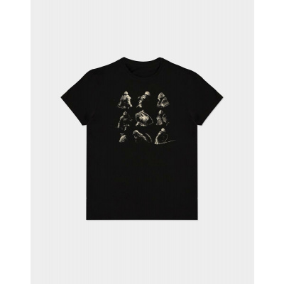 Demon's Souls: Knight Poses T-Shirt Size XL